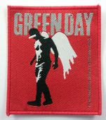 Green Day - 'Angel' Woven Patch